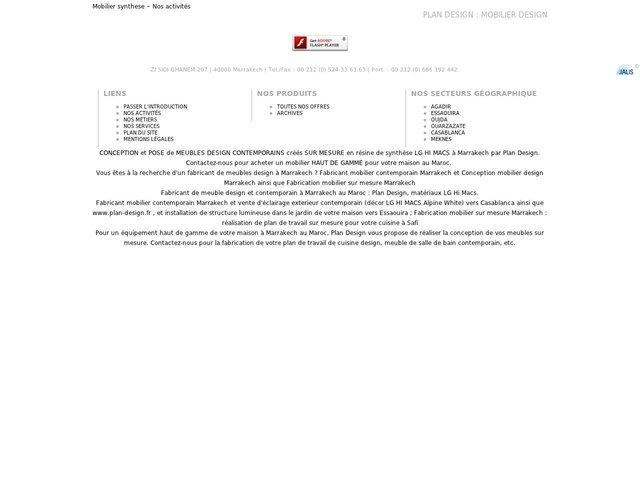 fabricant meuble design contemporain marrakech lg hi macs : plan ... - Fabricant Meuble Design