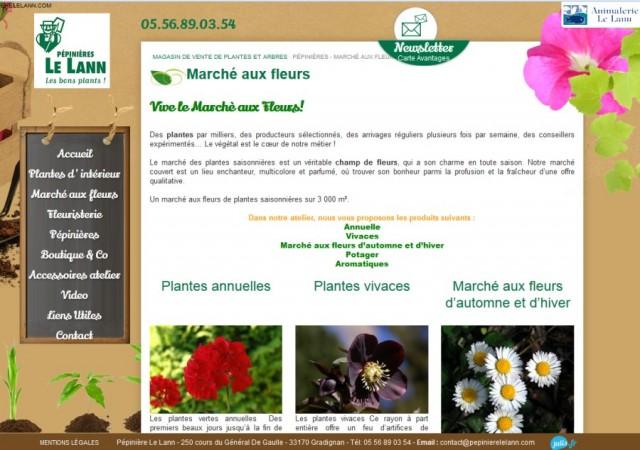 P piniere le lann sur gradignan vente de plantes de for Site de vente de plantes