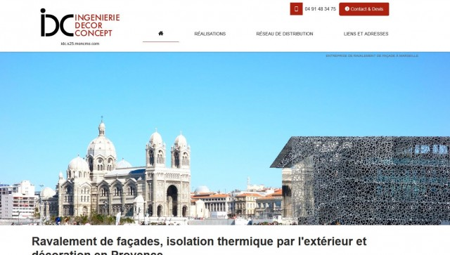 ravalement de fa�ade historique Marseille