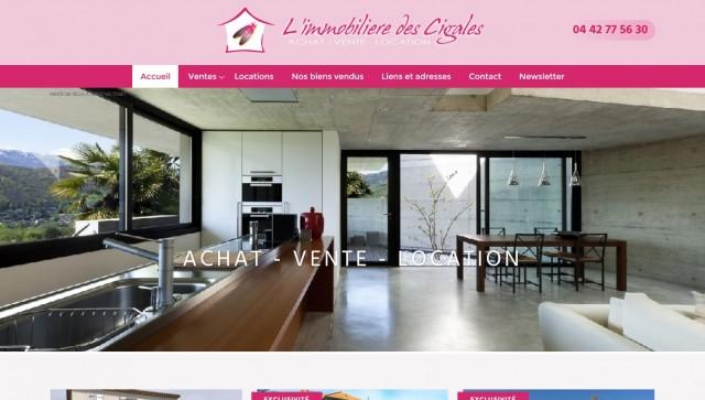 agence immobili�re Saint-Victoret