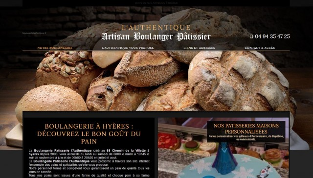 Boulangerie l'authentique