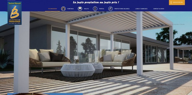 vente et pose de menuiseries made in france toulon techni r nov artisanat menuiserie bons. Black Bedroom Furniture Sets. Home Design Ideas