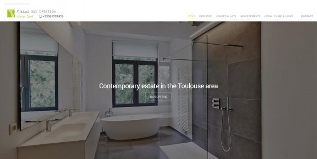 Constructeur de villa contemporaine à Toulouse - Villas Sud Création
