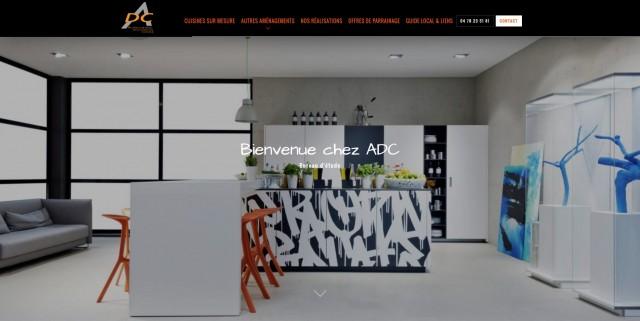 Cr ation de cuisine haut de gamme lyon adc cuisine for Creation cuisine en ligne