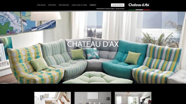 magasin de salons et canap s design valence ch teau d 39 ax maison deco mobilier ameublement. Black Bedroom Furniture Sets. Home Design Ideas