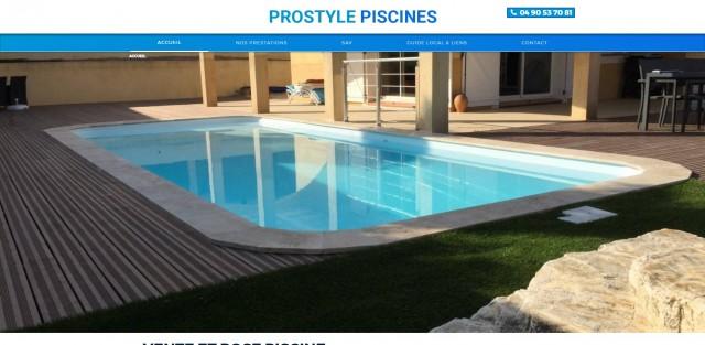 Pose de piscine coque marignane prostyle piscine for Piscine marignane