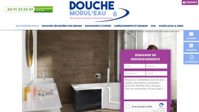 comment transformer sa baignoire en douche marseille douche modul 39 eau sante bons plans. Black Bedroom Furniture Sets. Home Design Ideas