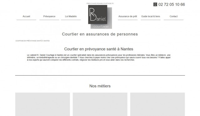 courtier en prévoyance pour professions libérales Nantes