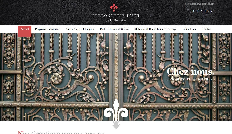 avis client de ferronnerie d 39 art la reinette brignoles. Black Bedroom Furniture Sets. Home Design Ideas