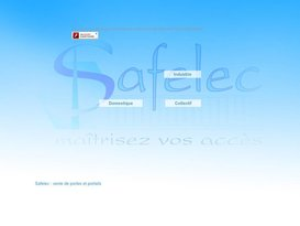 Safelec : Vente portails Valence Drôme