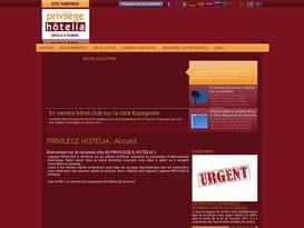 Agence immobiliere - achat vente hotel - Sète Hérault - Privilege Hotelia