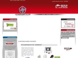 Vente et installation de système d'alarme