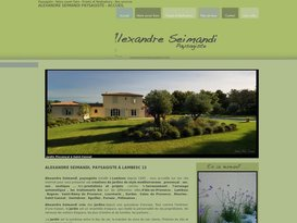 Paysagiste à Lambesc Aix en Provence 13 Alexandre Seimandi.