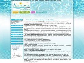 Vente et installation de piscine par Azurlonde dans le Var 83.