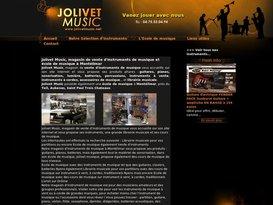 Jolivet : vente d'instruments de musique à Montélimar et cours de musique à Montélimar