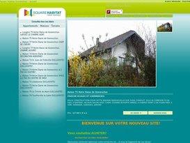 Agence immobilière Normandie vente pavillon : Square Habitat Gravenchon.