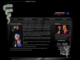 Chapeaux de cérémonie et Maroquinerie sur mesure - Déborah M - à Marseille FRANCE