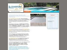 Fabricant couverture bache piscines Aix en Provence : Les Couvertures du Sud.