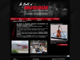 Magasin vente instruments de musique Valence : La Boite à Musique.