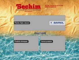 Entretien de piscine, sable de sablage par Sechim Marseille