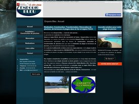 Installation et restauration piscine par Emporio Bleu pisciniste proche Toulon