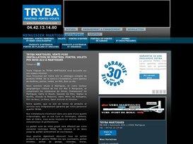 Tryba Martigues : Installation de fenêtre sur mesure, pose volet et menuiserie PVC.