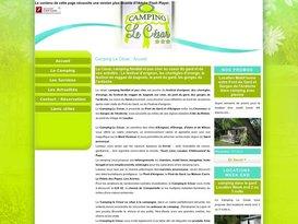 Camping pas cher Gard 30 : Camping 3 étoiles avec piscine Le César.