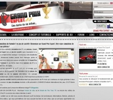 Simulation Formule 1 - Grand Prix Expert