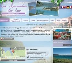Location saisonnière Var et Gorges du Verdon - Les Lavandes du Lac
