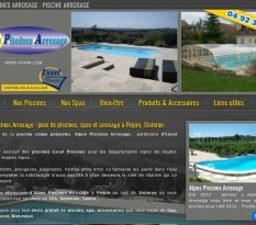 Vente, pose et entretien de piscines par Alpes Piscines Arrosage