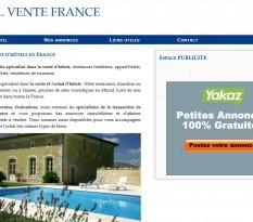 Achat vente hotel et hébergement touristique - France
