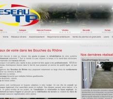 Travaux de voirie et goudronnage dans les Bouches-du-Rhône