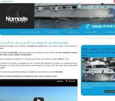 Location d'un yacht à partir de Marseille - Namaste Location