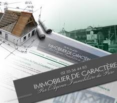 Agence immobilière de caractère à Caudebec-en-Caux en Seine-Maritime - Immobilière du Parc