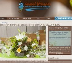 Wedding planner à Marseille - Sweet Dreams