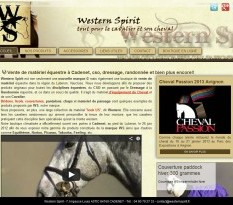 Boutique �questre Cadenet - Western Spirit