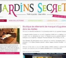 Où acheter des vêtements originaux vers Salon ? - Jardins Secrets