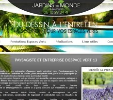 cr�ation d'un jardin � Marseille