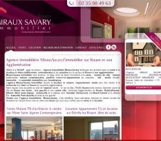 agence immobilière sur Rouen - Miraux Savary
