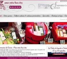 boutique de vente de savons naturels sans paraben cassis