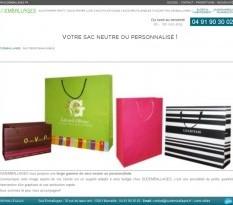 vente de sacs papier et plastique pour emballage et courtoisie