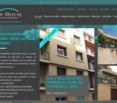 Agence immobiliere Le Bocq Immobilier Marseille
