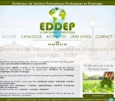 Eclairage public à Marseille - EDDEP