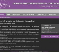 Cabinet Ergotherapeute CEBA sur Biganos 33