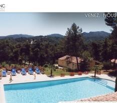 location villa avec piscine provence