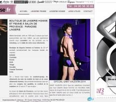 vente lingerie salon de provence