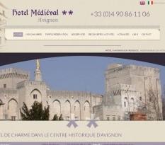 Hôtel médiéval à Avignon
