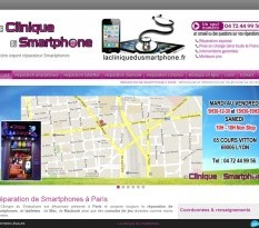 Magasin de téléphonie Paris