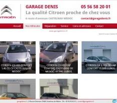 garage Citroen Denis sur Castelnau de Medoc