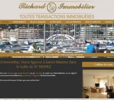 agence immobiliere sainte maxime